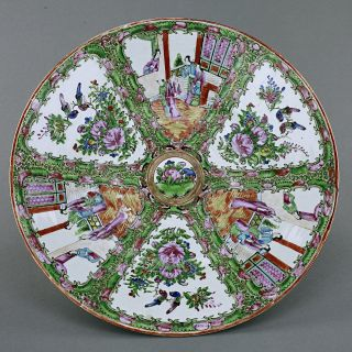 Large Chinese Canton Plate photo