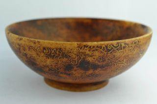 Asian Old Collectibles Decorated Wonderful Handwork Jade Flower Bowl Aaaaa photo