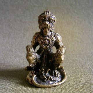 Hanuman Win Triumph Love Luck Attract Charm Thai Amulet photo
