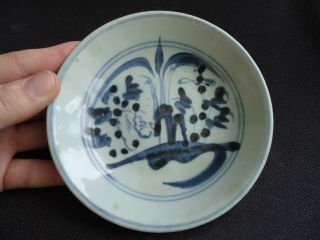 17thc Ming Dynasty Blue & White