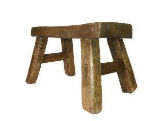 Chinese Antique Country Style Stool/stand photo
