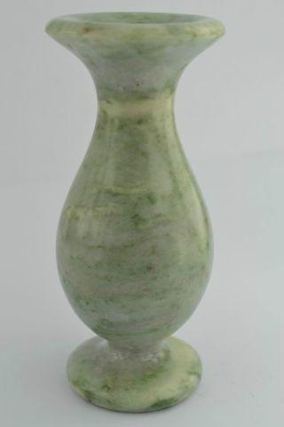 China Rare Collectibles Old Peking Decorated Wonderful Jade Burnish Vase +++++++ photo
