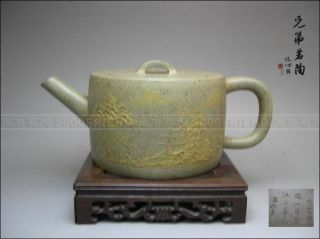5000friend - Classical Yixing Zisha Pottery Old Teapot photo