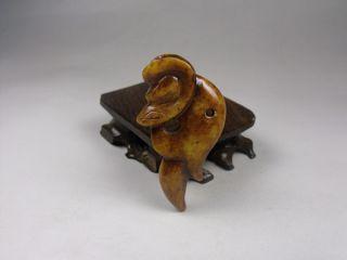Js157 Rare,  Chinese Old Jade Handmade Engraving Dragons Pendant photo