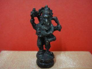 Pendant Lord Ganesh Hindu Charm Thai Success Amulet Talisman photo