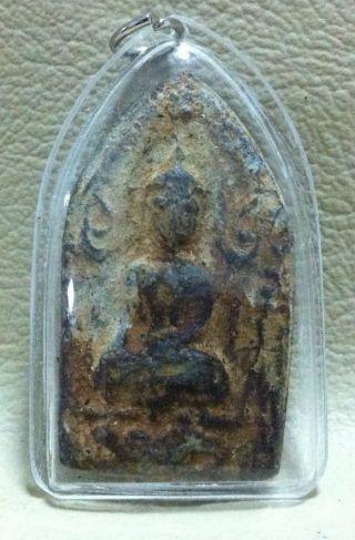 Phra Khun - Paen Back Kumarn Buddha Pendant Wealth,  Rich & Good Luck Attraction photo