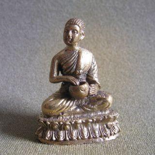Phra Sivali Wealth Luck Good Business Charm Thai Amulet photo