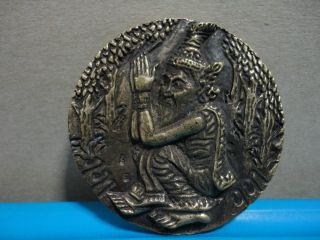 Lp Rusri Healthy Knowledge Lucky Charm Thai Amulet photo
