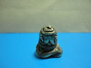 Phra Pidta Buddha Statue Luck Safe Charm Thai Amulet photo