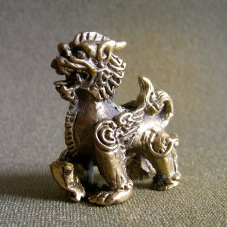 Piyao Wealth Rich Luck Good Business Charm Thai Amulet photo