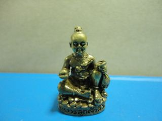 Kumanthong Jao Swao Kwak Sup Rich Luck Good Business Charm Thai Amulet photo