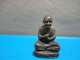 Lp Toa Buddha Statue Good Luck Safe Charm Thai Amulet photo