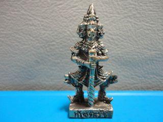 Giant Wealth Triumph Peace Safe Lucky Charm Thai Amulet photo