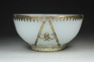 Chinese Old Beijing Coloured Glaze Wonderful Handwork Armored Dragon Bowl photo