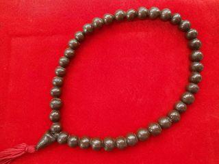 Numpee Steel Buddha Amulet Hand Necklace Antique Rare photo