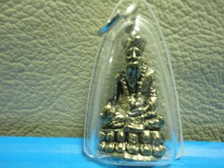 Lp Rusri Healthy Knowledge Lucky Charm Thai Amulet photo