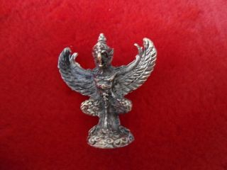 The King Of Garuda Bronze Thai Amulet For The Better Rank Fortune photo