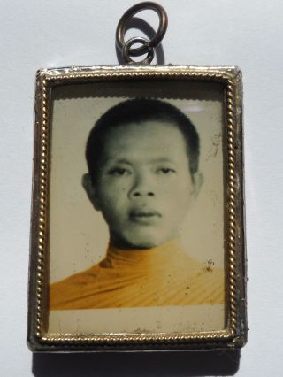 Locket Photo Lp.  Koon Wat Ban Rai Thai Be.  2509 photo