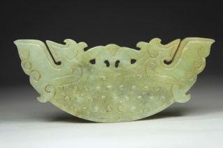 Chinese Old Jade Wonderful Handwork Carving Decoration
