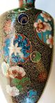 Chinese Antique Cloisonne Vase - Excellent Craftsmanship - Great Quality Boxes photo 11