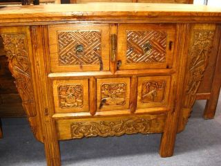 Antique Table From China photo