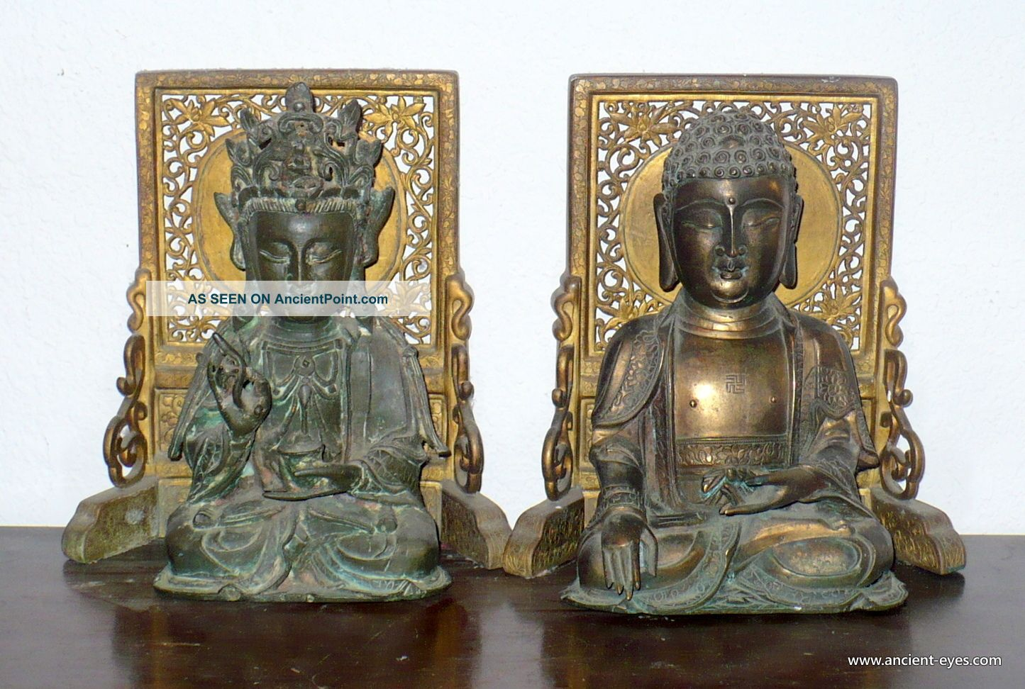 Chinese Ming Bronzes: Buddha And Guanyin - Avolokitesvara Buddha photo
