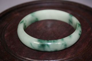 19th Century Qing Dynasty Jadeite Bangle photo