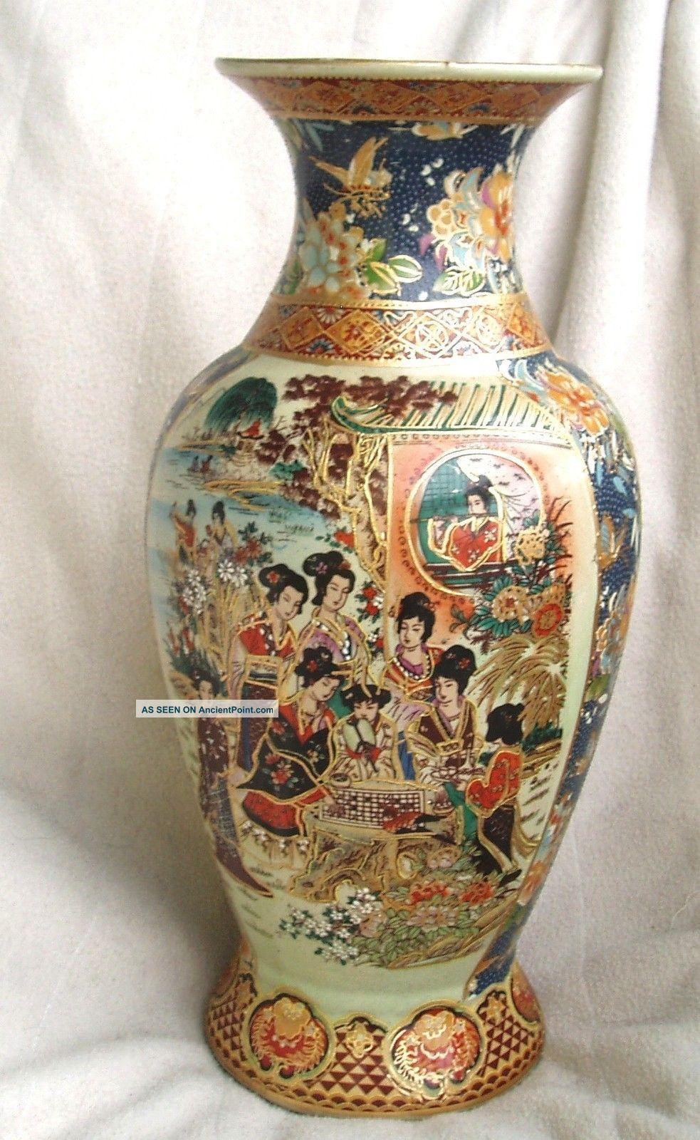 Antique Japanese Satsuma Vases Antiques Atlas 19th