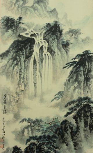 Jiku11247 China Hanging Scroll Sansui photo