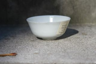 Antique Early Chinese Porcelain White Glazed Tea Bowl Or Cup Ming Dynasty photo
