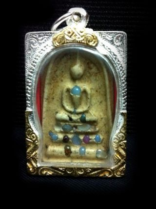Phra Sarira Somdej Toh Pim Yai Wat Rakng Thai Buddha Amulet. photo