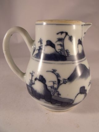 A Lovely C18th Chinese Porcelain Cream Jug photo