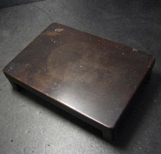 F404: Japanese Old Wooden Display Stand With Good Atmosphere photo