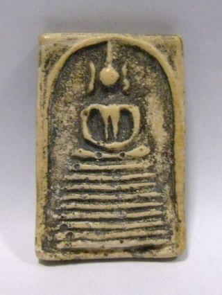 Phra Somdej Wat Ketchaiyo 2410 B.  E.  (1867 A.  D. ) Real Buddha Thai Amulet Rare photo