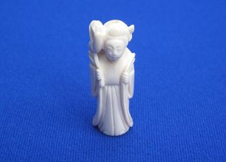 Fine Antique Chinese Carved Ox Bone