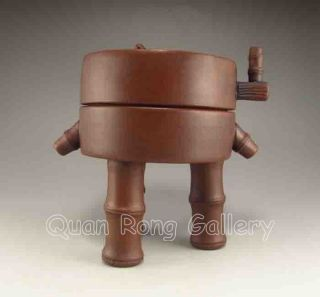 Chinese Zisha / Purple Clay Teapot W Mark Nr photo