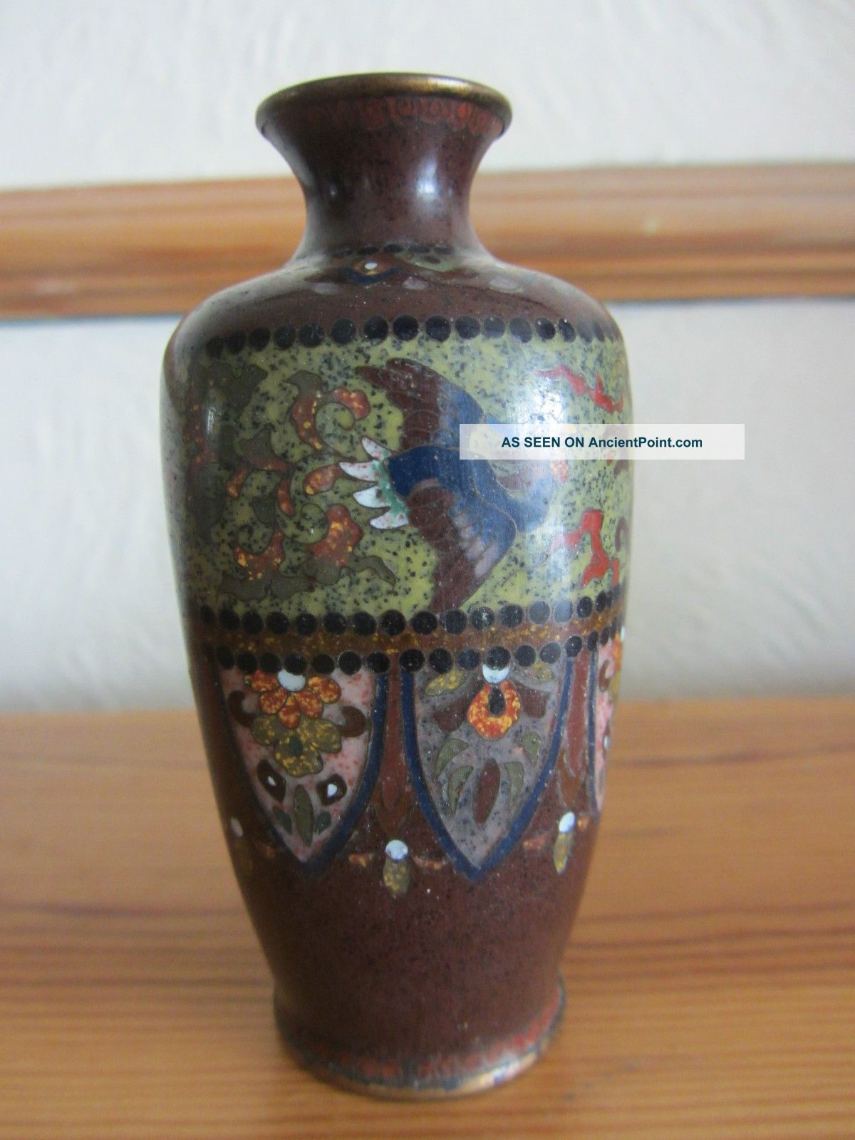 Good quality antique 19th century japanese meiji miniature good quality antique 19th century japanese meiji miniature cloisonne vase reviewsmspy