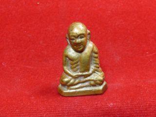 Amulet Phra Lp Luang Phor Ngern Buddhist Monk Thai Buddha Amulets photo