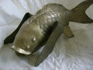 Large Japanese Bronze Fish photo
