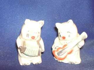 Vintage Rare Japanese Salt And Pepper Shakers photo