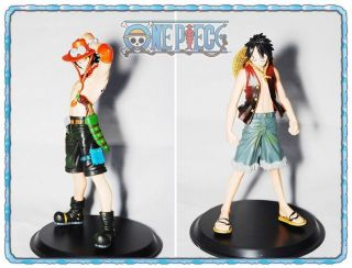 One Piece Limited Edition Luffy& D.  Ace 6.  5