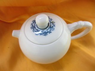 Chinese Porcelain Traditional Gongfu Teapot Pure White Bule Pattern Delicatet9 photo