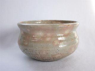 Japanese Vintage Hagi Ware Kensui By Shogetsu/ Tea Ceremony/ Tasteful Glaze/ 989 photo
