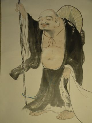 Hanging Scroll With Hotei Design W - 22 photo