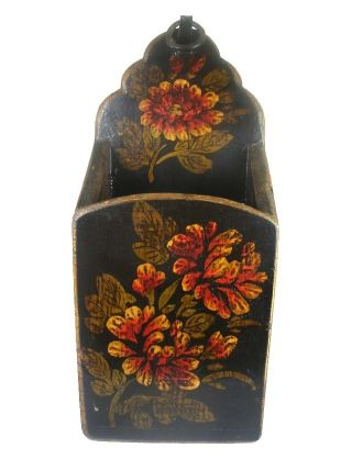 Chinese Chopsticks Box,  Flower Painting photo