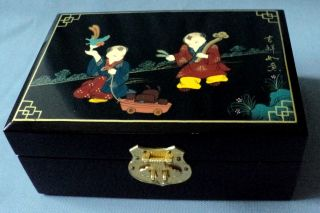 China Pingyao Push Light Lacquer Boxes photo