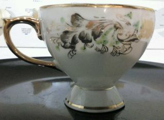 Antique Hand Painted Teacup From Japan. photo