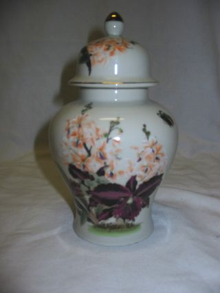 Collectible - Toyo - Black Orchid Vase With Lid photo