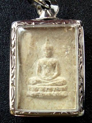 Thai Amulet Phra Somdej Tham - Ma - Kay Wat Paknam Luang Phor Sodh. photo