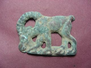 Chinese Bronze Antique Adornment Animal Figurine Collection Treasure photo